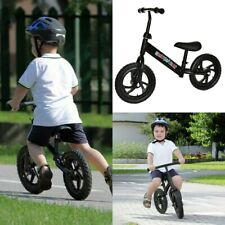 "12/"" Kids Balance Bike Push No Pedal Scooter Training Learn To Ride USA STOCK"