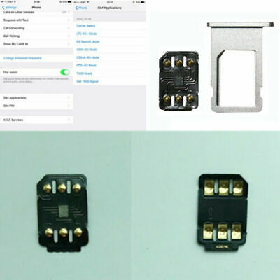 Universal Unlock Turbo Sim Card 4G Fit iPhone X 8 6 Plus+ ...