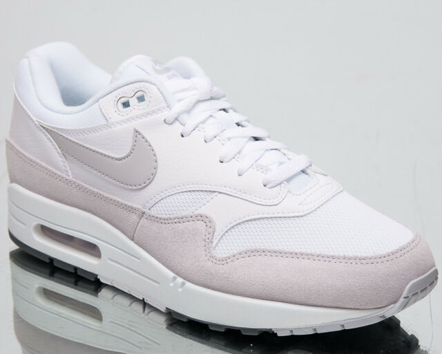 Nike Air Max 1 Men's New White Platinum Casual Lifestyle Sneakers AH8145 110