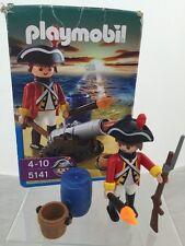 Playmobil Piratas Rojo Rock Island Casaca Roja Guardia 5151
