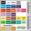 Aufkleber-11-teiliges-Set-Blaetter-Blatt-Laub-Herbst-Deko-Autoaufkleber-Sticker Indexbild 4