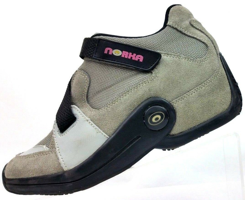 Norka gris Cuero Invierno De Gamuza Invierno Cuero Nieve Tobillo botas N5065W-01 para mujer 6 UE 37 60cad1
