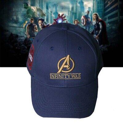 Inspired Infinity War Crew Hat Equip Embroidered Gauntlet Cap Marvel Avengers