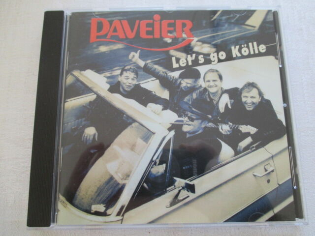 Paveier - Let's Go Kölle - CD