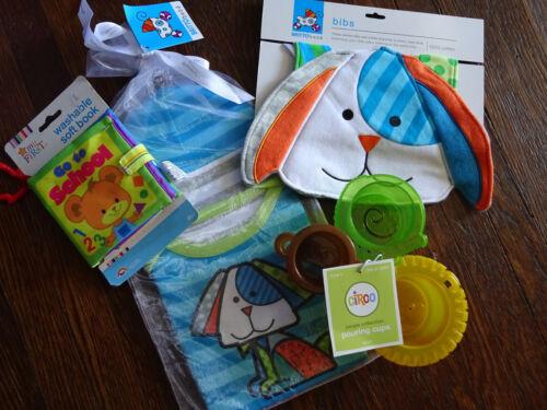 Boy Baby Shower Christmas Puppy Dog Gifts Romero Britto Bebe Onsie Hat Bib Toy