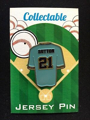 Weitere Ballsportarten Rational Milwaukee Brewers Don Sutton Trikot Revers Pin-brew Crew Sammelobjekt Baseball & Softball