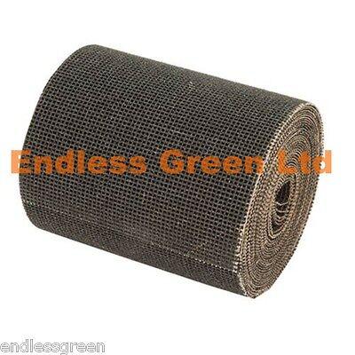 Sanding Mesh - clog resistant sandpaper for woodworking & decorating 5 Mtr Roll