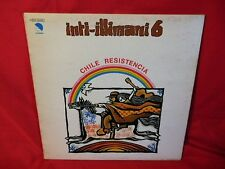 INTI-ILLIMANI 6 Chile resistencia LP 1977 ITALY First pressing MINT-