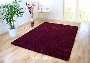 Image Is Loading Small Extra Large Purple Plum Thick Pile Plain
