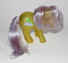 Mein kleines Pony Napper My little 142 G1 Glitzer Gelb Lametta Sparkle Ponies
