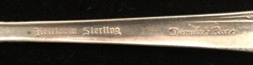 Heirloom Oneida Damask Rose FH Butter Spreader Sterling Silver Flatware