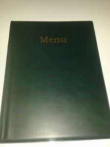 A4-MENU-HOLDER-COVER-FOLDER-IN-GREEN-LEATHER-LOOK-PVC