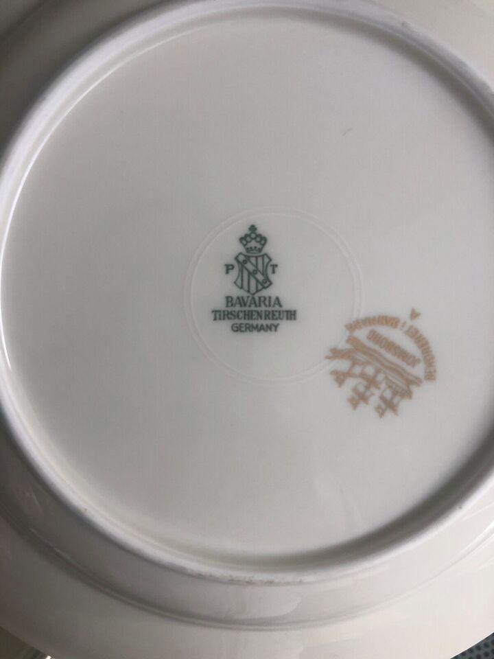 Porcelæn, Spise stel , Bavaria