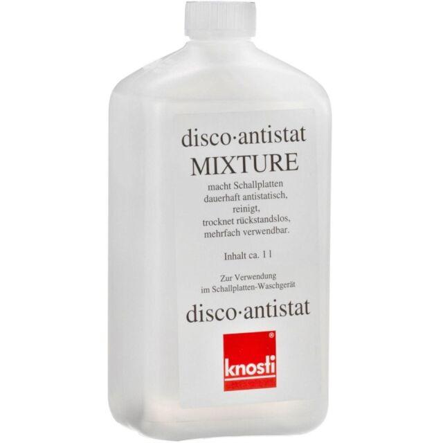 KNOSTI disco-antist mixture LITRO liquido x macchina lava dischi pulizia vinile