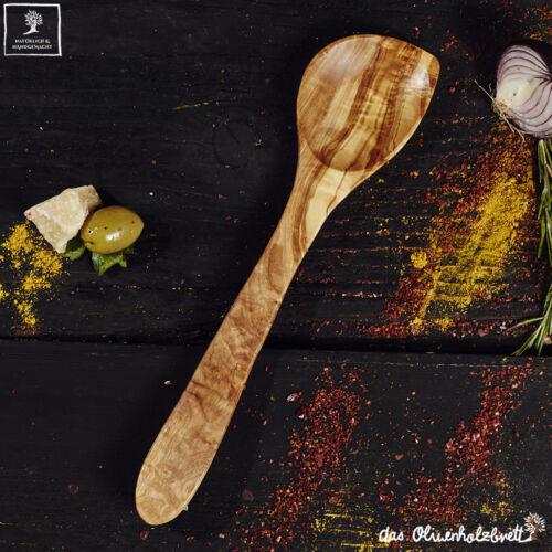 Assistant de cuisine /& étui//Olivenholz Cuiller en bois Spatule Cuillère du risotto Cuillère