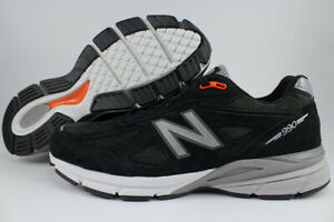 size 40 caeb6 bf19e Details about NEW BALANCE 990 V4 BLACK/ROSIN GREEN/SILVER/GRAY MADE IN USA  RUNNING M990MB4 MEN