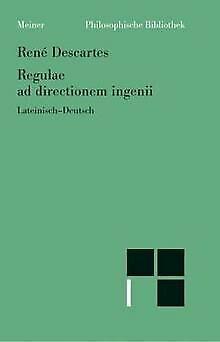 Regulae ad directionem ingenii / Regeln zur Ausrichtung ... | Buch | Zustand gut