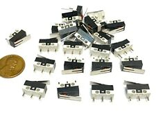 25 Pieces Limit Switch Lever 3d Printer Nc No Arm Micro Small Ac Dc A
