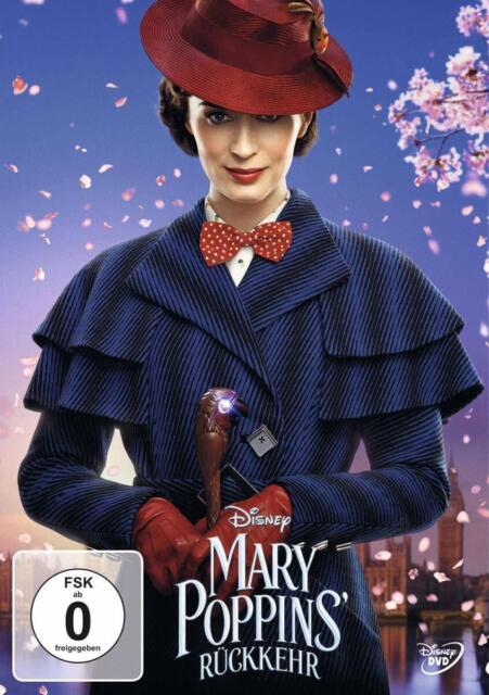 Mary Poppins' Rückkehr (2019)[DVD/NEU/OVP] die Fortsetzung des Originals
