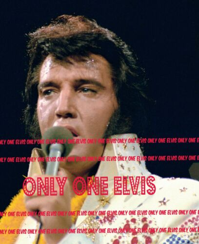 """1973 ELVIS PRESLEY on TELEVISION /""""ALOHA FROM HAWAII/"""" CONCERT Photo #17"""