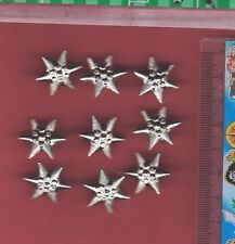 Lot of 9 Hungary, Hungarian Army Rank Stars - Silver