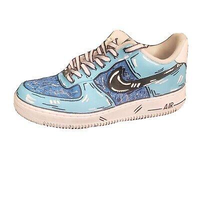 Nike Air Force 1 Low Custom Cartoon Size 8 Mens Ebay