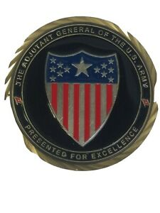 The-Adjutant-General-Of-The-U-S-Army-Presented-For-Excellence-Challenge-Coin