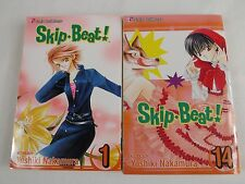 Skip Beat! Manga (Lot of 2, Volumes 1 & 14)