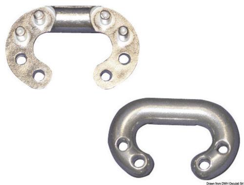 Falsa maglia calibrata in acciaio inox Ø 6mm perni 6mm salpa ancora elettrico