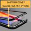 COVER-CUSTODIA-MAGNETICA-ALLUMINIO-VETRO-TEMPERATO-APPLE-IPHONE-6-6S-7-8-X-XS-XR miniatura 3
