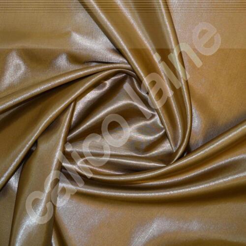 New Gold Satin Back Dupion Fabric