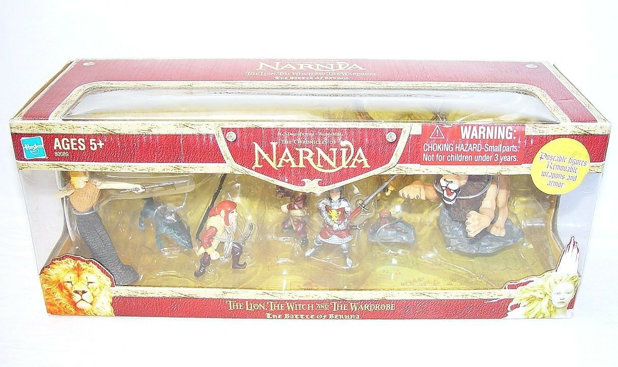 Hasbro NARNIA THE LION LION LION THE WITCH AND THE WARDROBE 7 Figure Gift Set MIB`05 RARE 890bd9