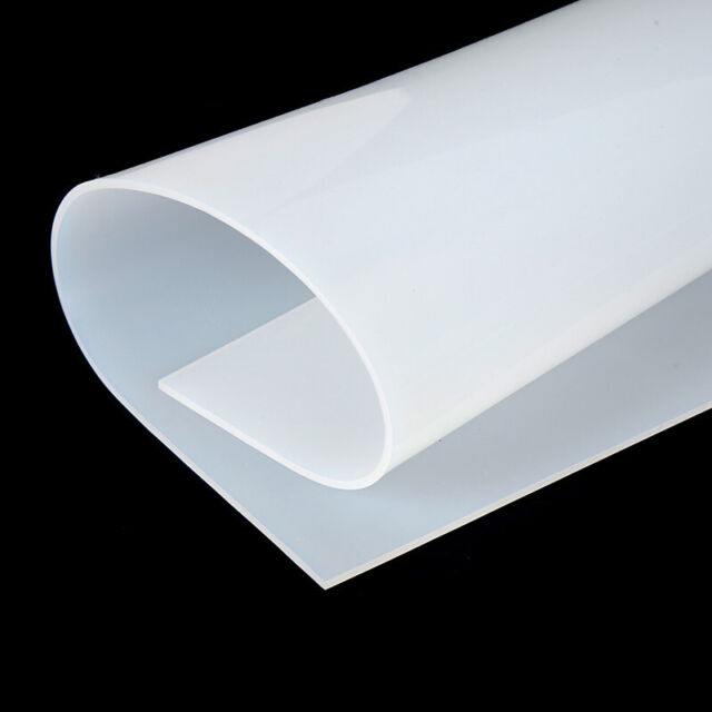 """2mm Thickness 50x50cm//20/""""X20/"""" Silicone Rubber Sheet Plate Mat High Temp Resist"""