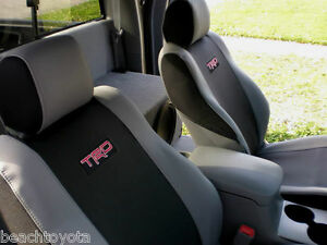 2005 2008 TACOMA TRD SPORT OFFROAD XRUNNER FRONT SEAT COVERS