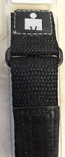 New 12-16mm Nylon Sport Timex Black Fast Wrap Adjustable Ironman Watch Band