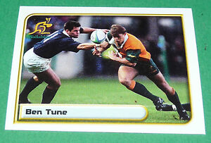 N-202-B-TUNE-AUSTRALIA-MERLIN-IRB-RUGBY-WORLD-CUP-1999-PANINI-COUPE-MONDE