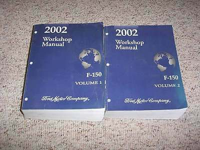 ford  truck shop service repair manual set xl xlt