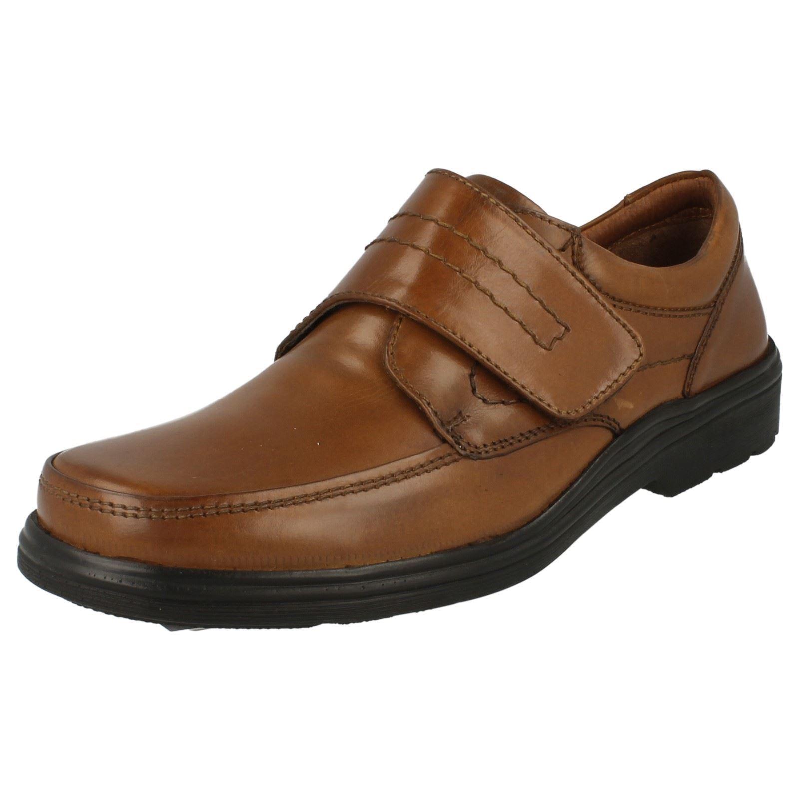 Maverick A1108 Leather Mens Tan Riptape 100% Leather A1108 Shoes c6a648