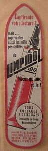 Antique-Brand-Pages-Bookmark-Advertising-Liquid-Glue-Limpidol-Binders-Amovi