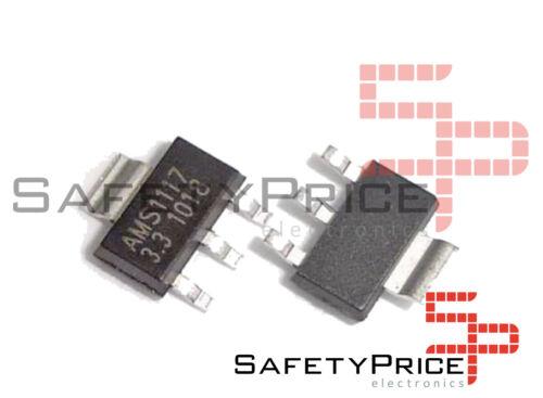 5 X AMS1117 SMD Regler von Spannung 3.3V 3,3V 1A Spannung Regulator SOT-223 Sp