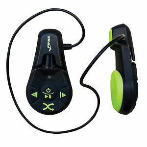 FINIS-DUO-UNDERWATER-MP3-PLAYER-4GB-1000-SONGS-Color-Black-Acid-Green