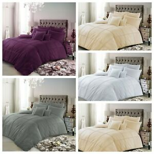 Luxe-Ensemble-de-Literie-King-Size-Double-Simple-Super-Designer-Housse-Couette