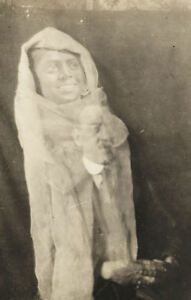 Framed Print Old Vintage Photo Paranormal Art Victorian Spirit Photography