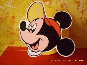 Mickey Mouse Micky Maus Lampe / Wandlampe - Leuchte - Kinderlampe - Disney -