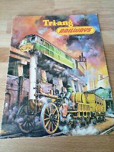 Vintage Tri-ang Triang Catalogue - Model Railways - 11th Edition - 1965/66