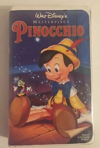Walt-Disney-039-s-Pinocchio-1993-VHS-Collector-039-s-Edition-Clamshell