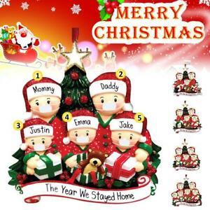 2020-Xmas-Christmas-Tree-Hanging-Ornaments-Family-Ornament-Santa-Claus-Dec-UK