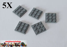 Platte 2x16 4282 Neu Platten Basics Lego 2 Stück dunkelgrau dark bluish gray