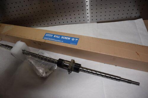 """KURODA Ball Screw GZ2060QS-ZESR-0752-X0628-C5H  20-60 C5H  AFP4234 20mm 24-1//2/"""""""