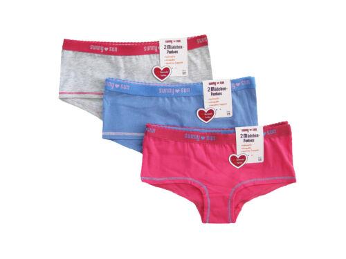 Mädchen Panties,Hüfties,4 Pack,Baumwolle